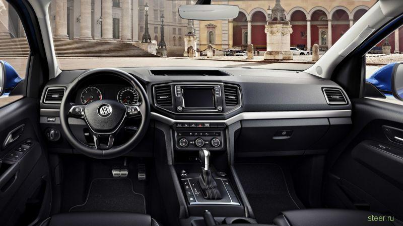 Обновленный пикап Volkswagen Amarok подорожал на 300 тысяч рублей