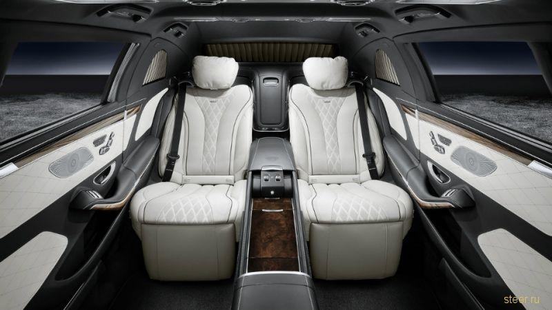 Бронированный лимузин Maybach S600 Pullman будет весить более 5 тонн