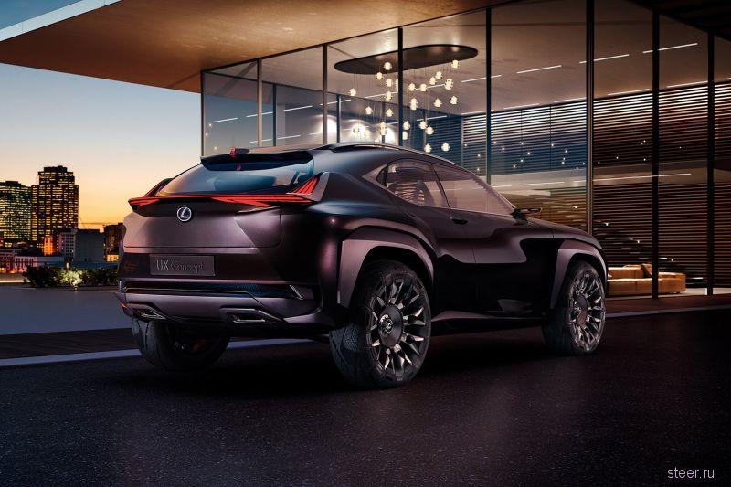 Представлено фото салона нового Lexus UX