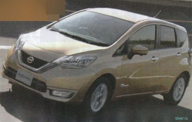Новый Nissan Note : первые фото