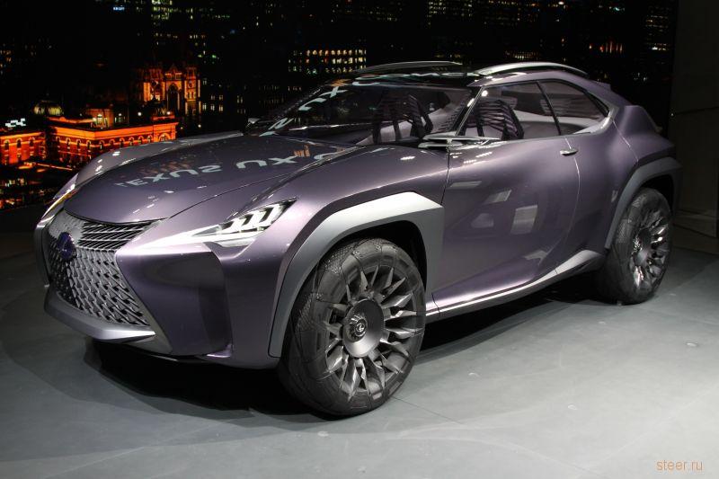 Официально представлен маленький кроссовер Lexus UX