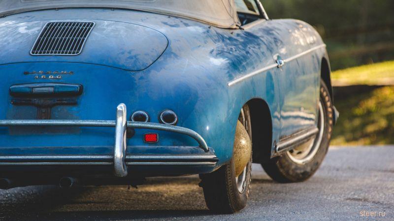 В США на аукцион выставлен раритетный Porsche 356 A