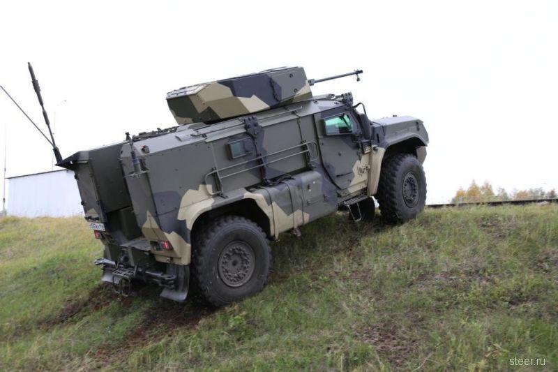 Новые фото и видео броневнедорожника КАМАЗ-К4386 «Тайфун-ВДВ»