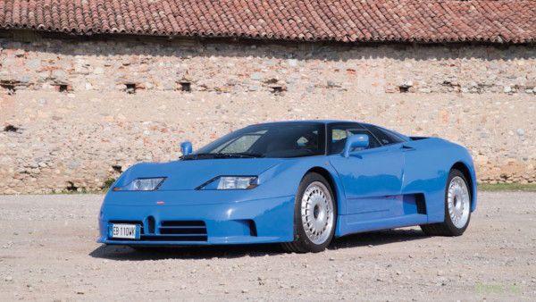 Уникальный Bugatti EB110 GT выставлен на аукцион