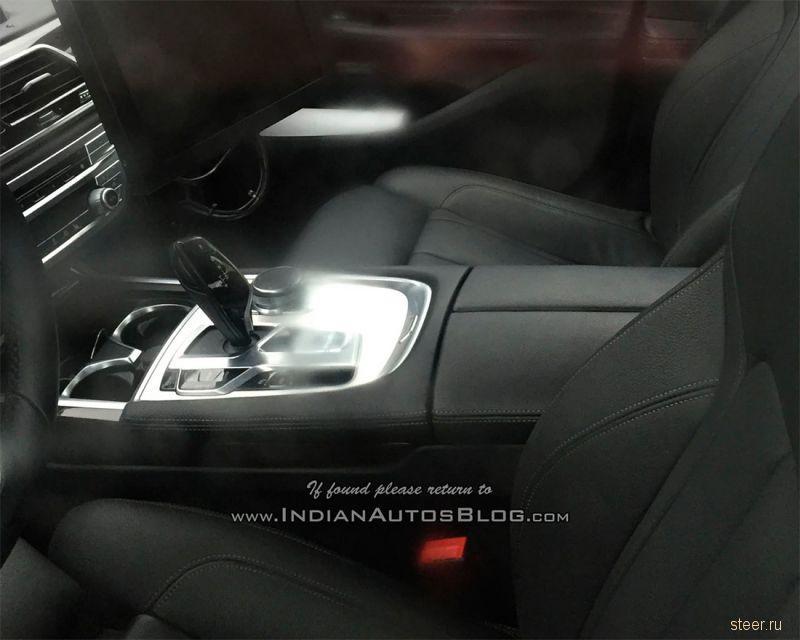 Первые фото салона новой BMW 5-Series