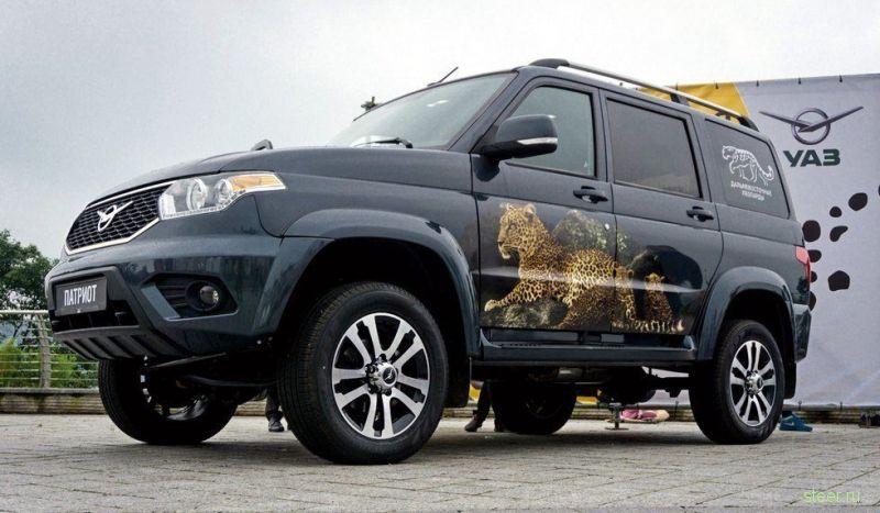 Объявлены цены на обновленный UAZ Patriot