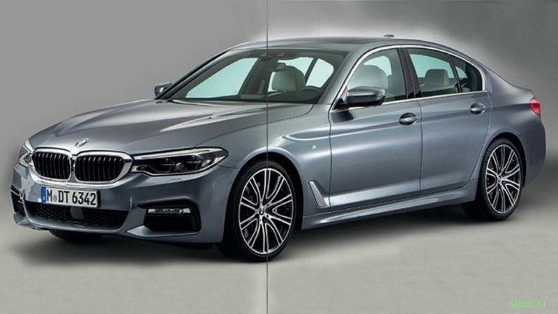 Новую «пятерку» BMW показали до премьеры