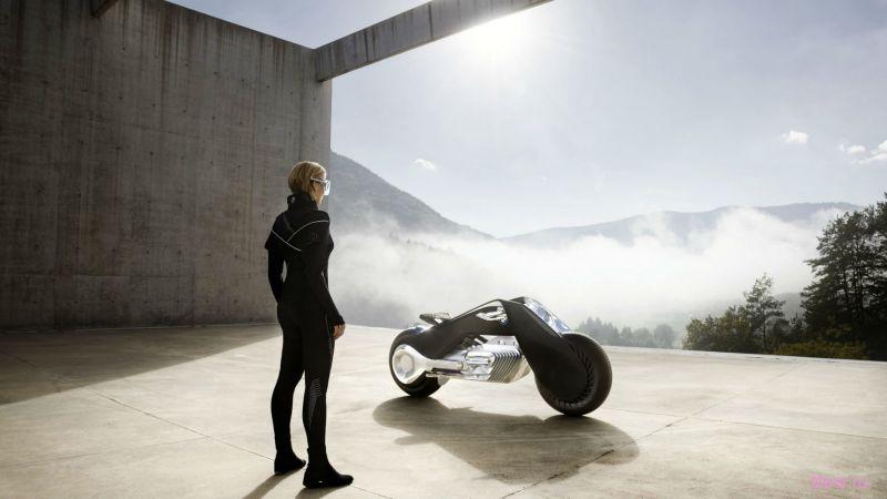 BMW Motorrad Vision Next 100 : мотоцикл будущего