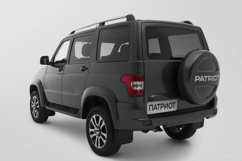 Новый УАЗ Патриот представлен официально