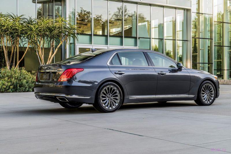 Премиум-седан Genesis G90 : от 4,45 млн рублей за базовую версию