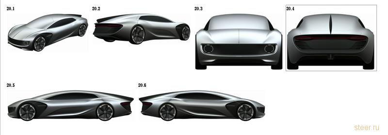 Volkswagen запантентовал автомобиль будущего