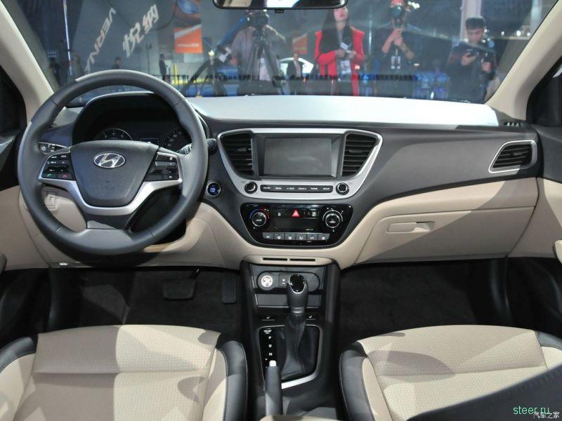 Hyundai представил хэтчбек Solaris