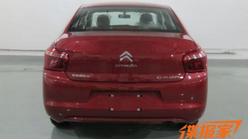 Первые фото обновленных Citroen C-Elysee и Peugeot 301