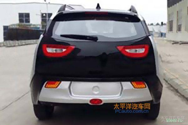 В Китае скопировали BMW i3