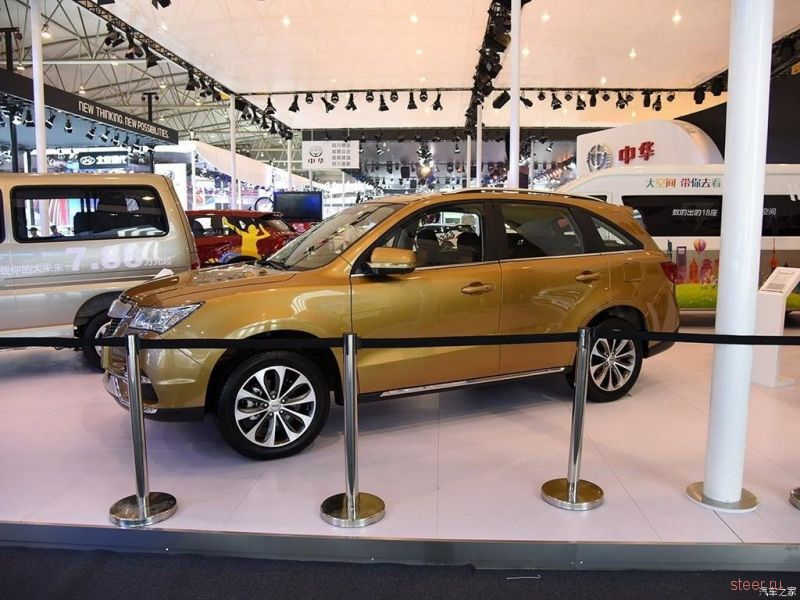 В Китае начались продажи клона Acura MDX
