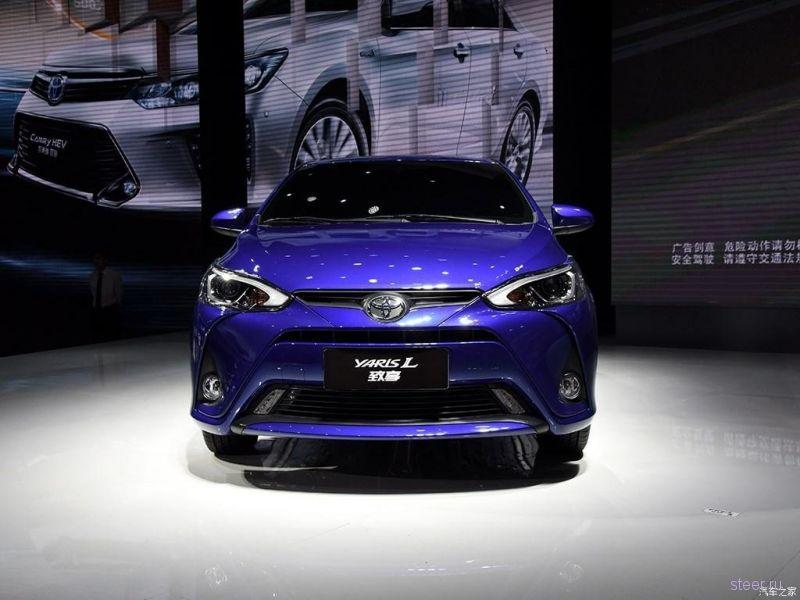 Toyota представила компактный седан на базе Yaris L