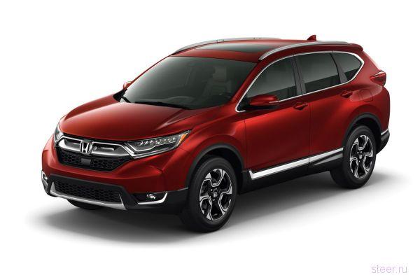 Honda привезет в Россию кроссовер CR-V пятого поколения в середине 2017 года.