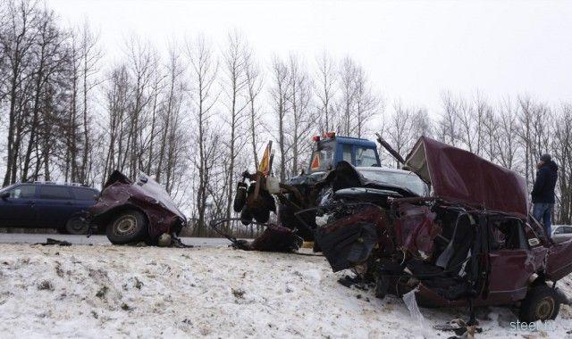 Смертельная авария под Тулой: «семерку» разорвало на части