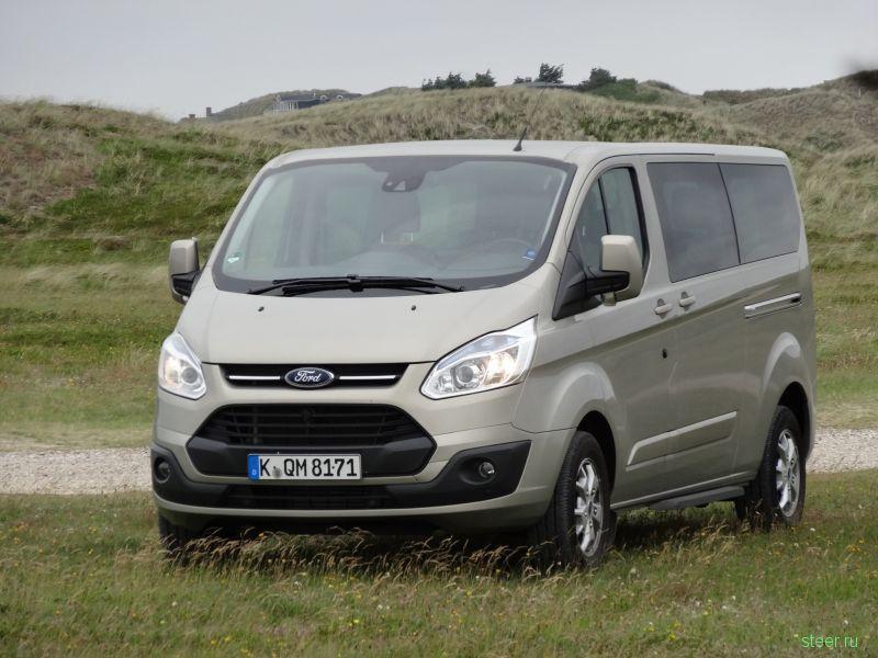 В России начнутся продажи двух новых моделей фургонов Ford
