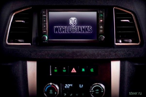«УАЗ» показал спецсерию «Патриотов» для фанатов World of Tanks