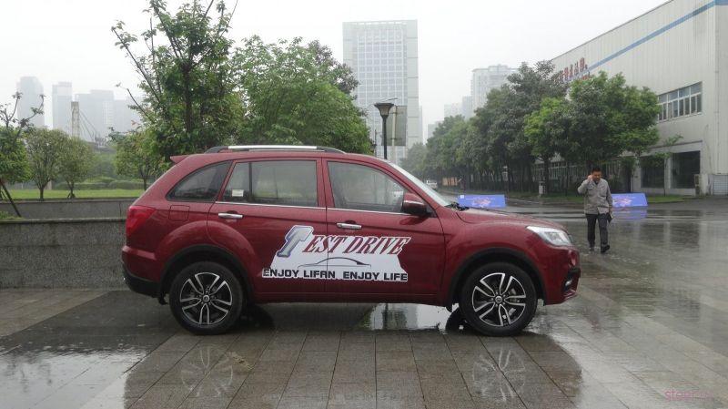 Стартовали российские продажи обновленного кроссовера Lifan X60