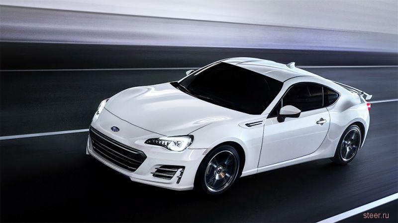 Subaru представила обновленнное купе BRZ