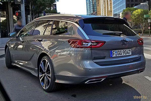 Первые фото нового Opel Insignia