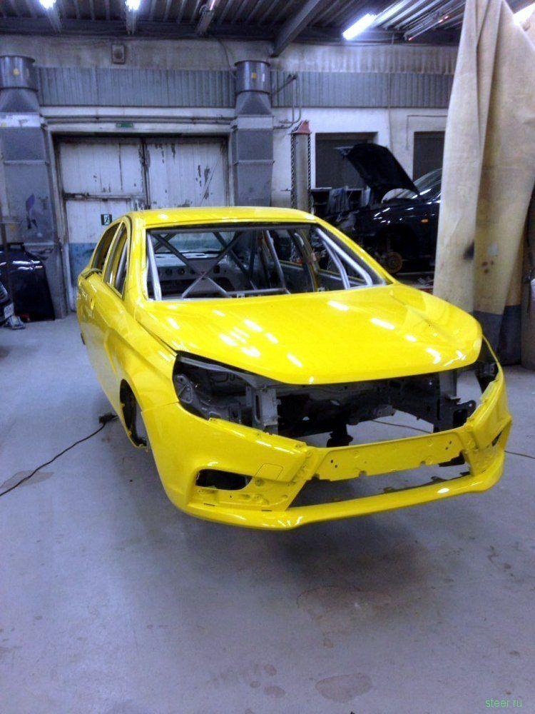 На «АвтоВАЗ» начата сборка Lada Vesta Sport