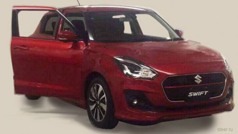 Первое фото нового Suzuki Swift