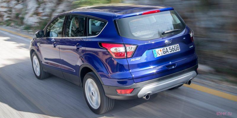 Обновленный кроссовер Ford Kuga : от 1 149 000 рублей