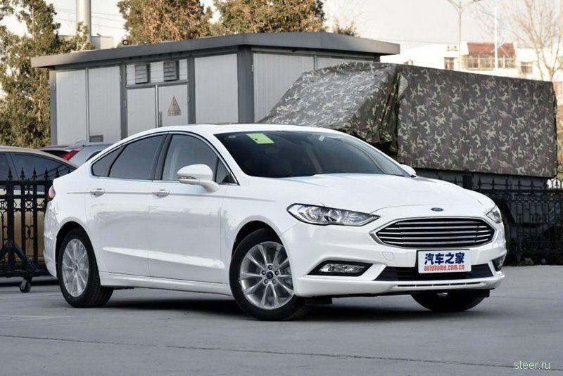 В Китае показали рестайлинговый Ford Mondeo