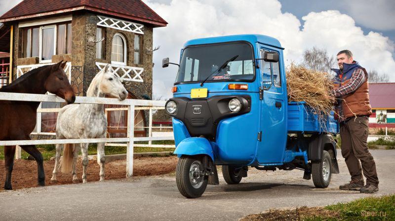 трицикл Maxima C: дизельный грузовичок за 300 000 рублей