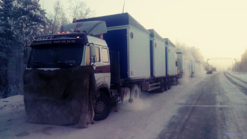 Замерзают водители в ЯНАО г.Ноябрьск