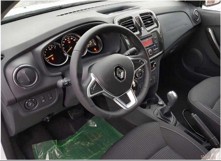 Первые фото обновленного Renault Logan