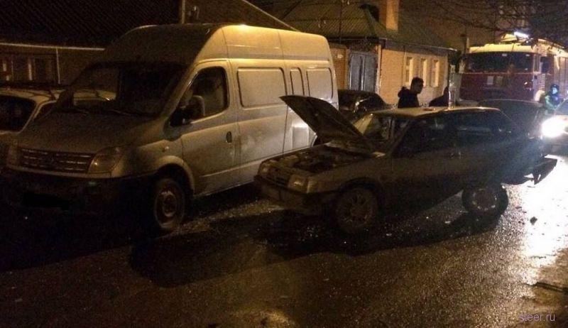 Пьяный священник устроил массовое ДТП из семи авто в Ростове-на-Дону
