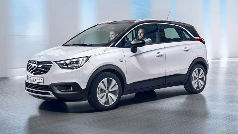 Официально представлен кроссовер Opel Crossland X