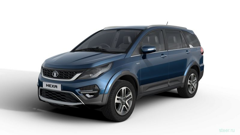 Tata Hexa - индийский внедорожник за 1 млн рублей