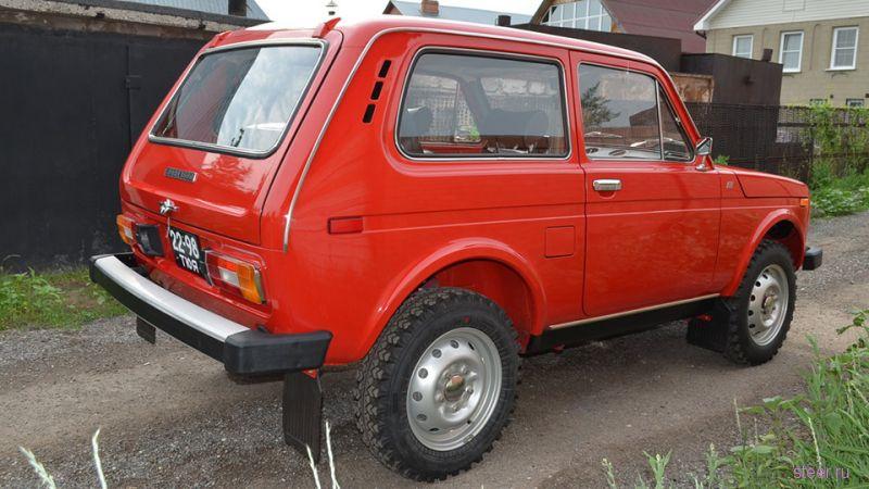 «Ниву» 1980 года с пробегом в 201 км продают за пять миллионов рублей
