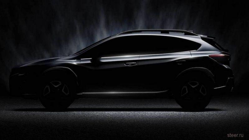 Представлено первое изображение нового Subaru XV