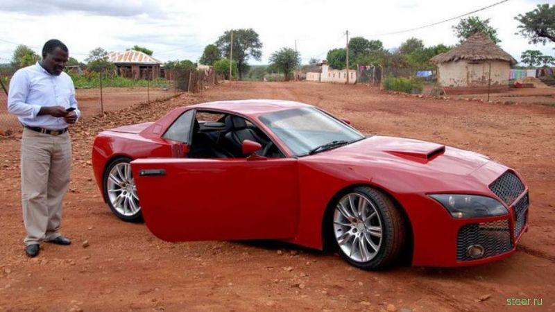 Африканский инженер создал спорткар за 17 тысяч долларов