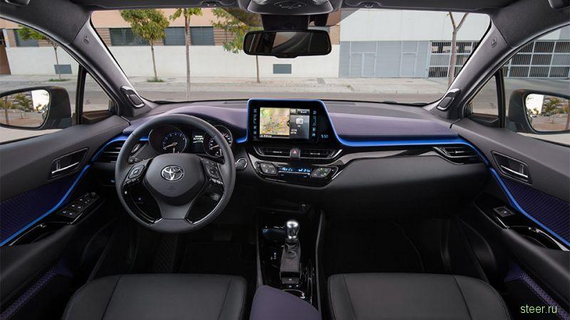 Toyota C-HR сертифицирован для продаж в России