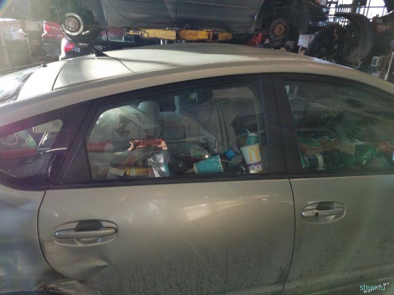 Когда в машине грязно