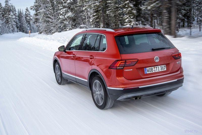 Стартовали российские продажи нового Volkswagen Tiguan : от 1 млн 459 тыс. рублей