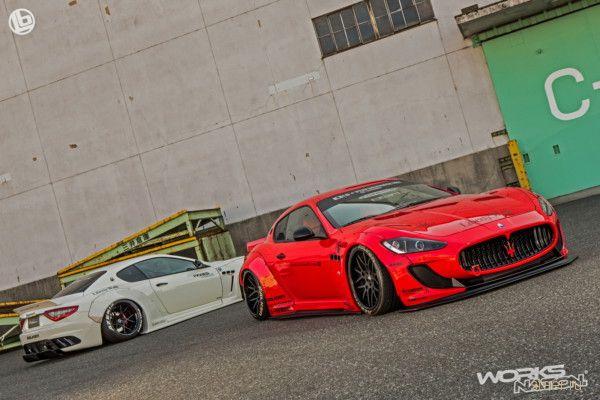 Тюнинг Maserati GranTurismo от Liberty Walk