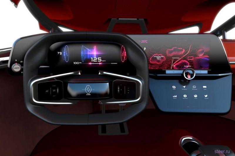 Renault Trezor признан самым красивым концепт-каром года