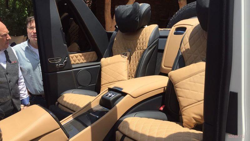 Mercedes-Maybach G 650 Landaulet : первый внедорожник от Maybach