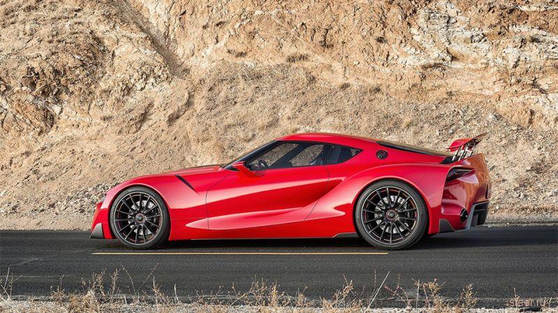 Первая информация о новой Toyota Supra