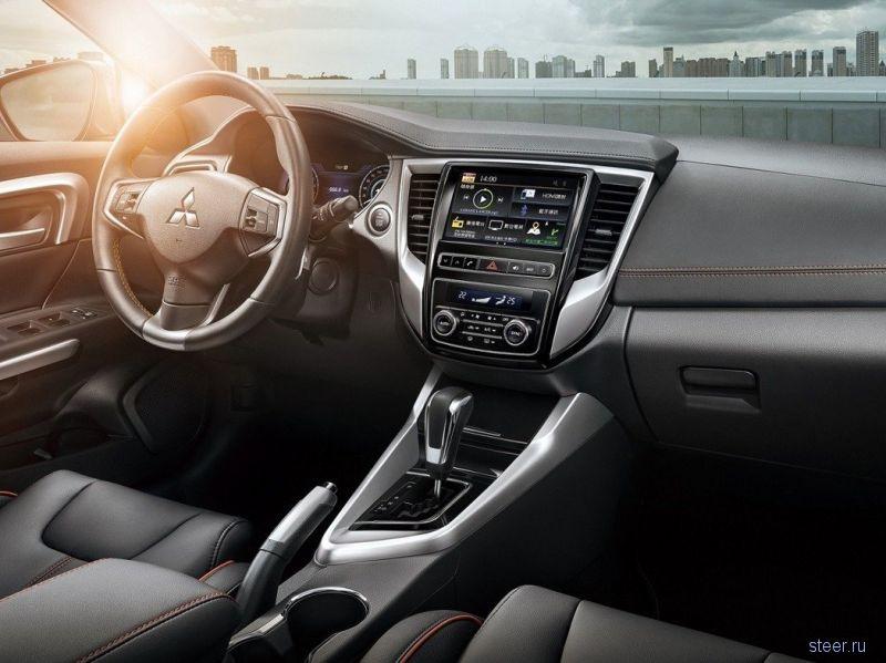 Mitsubishi Grand Lancer — обновленная версия седана для рынка Тайваня и Китая