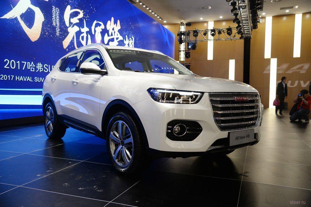 В Китае представили кроссовер Haval H6 второго поколения.