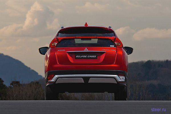 Представлен кроссовер Mitsubishi Eclipse